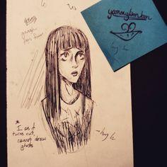 Last minute dives onto bandwagon #sketchbook #art #drawing #ink #doodle #inktober2015 #inktober #drawloween