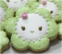 Guestpost: D. Sweet – Handmade Creative Cookies' Cute Daisies - Instructions  how to