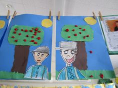 johnny appleseed art project.