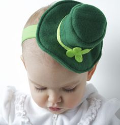 adorable baby leprechaun hat @Melissa Skene