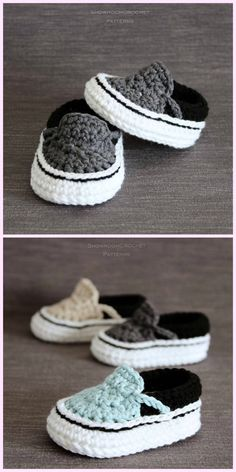 4d2103be79b2de 1431 Best Crochet - Baby Shoes images in 2019