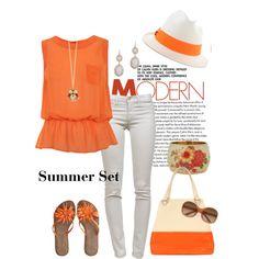 Summer Set, created by charlotte-bilton-carver on Polyvore