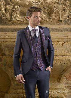 Enzo Romano Wedding Suit Styles, Wedding Suits, Wedding Dress, Mens Fashion Suits, Blazer Fashion, Mens Suits, Fashion Fashion, Costume Sexy, Bespoke Clothing