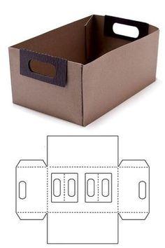 Blitsy: Template Dies- File Box - Template Dies - Sales Ending Mar 05 - Paper - Save up to on craft supplies! Diy Gift Box, Diy Box, Gift Boxes, Diy Paper, Paper Crafts, Diy Karton, Box Patterns, Cardboard Crafts, Cardboard Boxes