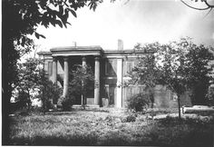 James K. Polk House, view from 7th Ave (Vine St.) - Tennessee State Library and Archives: Photograph and Image Search