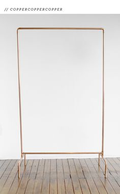 FANCY! Design Blog | NZ Design Blog | Awesome Design, from NZ + The World: Copper Hanger, get in my house.