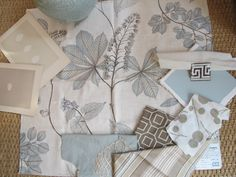 I love the brown/gray colors with a touch of blue for accent