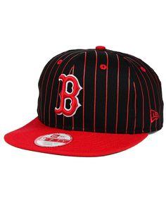 super popular 8f56f 2cc4f New Era Boston Red Sox Vintage Pinstripe 9FIFTY Snapback Cap Boston Red Sox  Logo, Sports
