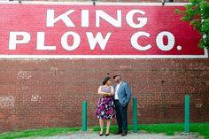 King Plow Engagement