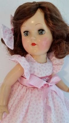 SHES-A-SWEETIE-1950s-IDEAL-TONI-DOLL-DEEP-REDDISH-BROWN-HAIR