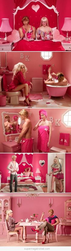 Barbie and Ken's Marriage in Real Life---- This is why I used GI Joes to play with Barbie lol