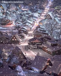 """Winter in Shirakawa-go - Japan Picture by via :"