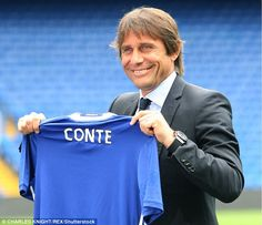 Antonio Conte officially unveiled as Chelsea's new manager at Stamford Bridge