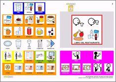 Informática para Educación Especial: Libro del Restaurante en Comunicación Aumentativa. ¡A comeeeer!