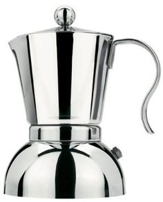 Stella Pione 2 Cup Stainless Steel Stovetop Espresso Maker 402