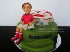 Doces Opções: O aniversário do Francisco no Estádio da Luz