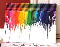 Love it!  I must try this. Perfect decoration for a craft room!