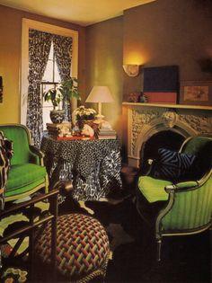 Living Room Decor, 1970s