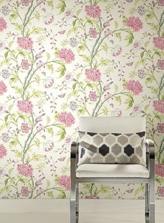 Carey Lind Vibe Teahouse Floral Wallpaper - Google Search