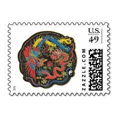 Phoenix postage stamp