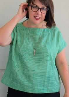 Cookin' & Craftin': Double Gauze Style Arc Ethel Designer Top
