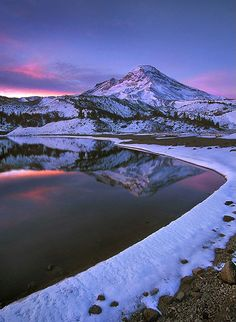 Awakening... Early Winter in Oregon's Three Sisters Wilderness