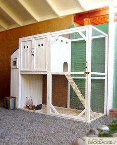 Gallinas Urbanas: diseño de gallinero  [Urban chickens: coop design]