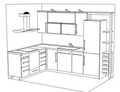 The Kitchen Work Triangle Layouts Supreme And Kitchens - Small Kitchen Design Layout
