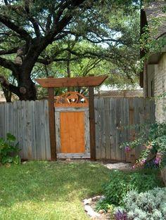backyard transformation on a budget, decks, fences, outdoor living, DIY gate