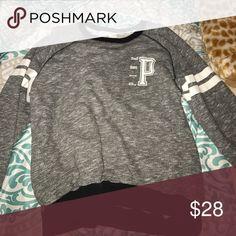 sweatshirt Victoria secret PINK sweatshirt. super cute and comfy, just too big for me PINK Victoria's Secret Sweaters Crew & Scoop Necks