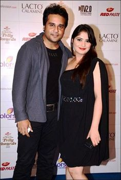 Krishna Abhishek with his sister