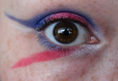 Sailor Moon inspired make up by http://www.stealmetics.de/2015/06/blogparade-sailor-moon.html