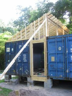Build Container Home 851321135788829375 - Studios – Independence Art Studios, Houston, Texas Container Shop, Sea Container Homes, Building A Container Home, Container Cabin, Container Buildings, Storage Container Homes, Container Architecture, Container House Design, Tiny House Design