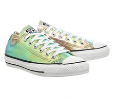 Converse All Star Low Gold Iridescent - Unisex Sports