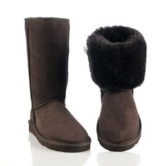 $89 Ugg Classic Tall Boots 5815 Chocolate - UGG Boot Outlet