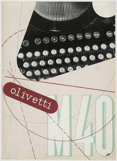 Xanti Schawinsky. para MARCA OLIVETTI, 1934.