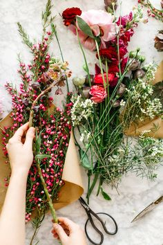 Emily from Gypsy Floral teaches me how to create the ultimate Mothers Day bouquet. Just in time to deliver to Mom this Sunday. Flower Power, My Flower, Cactus Flower, Wild Flowers, Beautiful Flowers, Exotic Flowers, Fresh Flowers, Colorful Flowers, Purple Flowers
