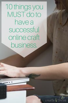There is so, so much that goes into having a successful online craft business.  Truly, the path is long, and can be hard, and has so very many steps. However, I've been in the handmade …