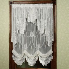 Garland Lace Window Treatments from Touch of Class.