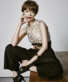 Go Joon Hee and Super Junior Siwon - Cosmopolitan... - Korean Magazine Lovers