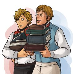 <3 THIS is what the movie/musical needs to focus on - Enjo and 'Ferre's friendship, not Enjo and Marius. For goodness sakes, it's not even brick accurate to have Enjo and Marius as friends!