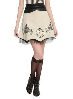 Disney Cinderella High-Waisted Skirt Pre-Order   Hot Topic