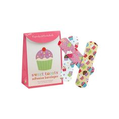 Sweet Cupcakes Bandages to Heal Your Boo Boo Faster ❤ liked on Polyvore featuring accessories