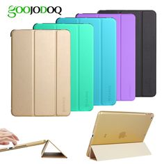 Case for iPad Mini 2 / Mini 3 / Mini 1 Case PU Leather Ultra Slim+Translucent PC Hard Back Smart Cover for Apple iPad Mini Case
