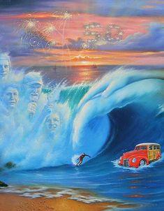Portrait of the Beach Boys