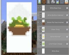 Minecraft Banner Patterns, Cool Minecraft Banners, Minecraft Shops, Cute Minecraft Houses, Minecraft Plans, Minecraft House Designs, Minecraft Decorations, Amazing Minecraft, Minecraft Videos