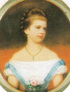 Archduchess Gisela of Austria-Hungary in 1872 (by George Raab)