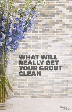 Learn how common household products can be used to clean tough tile grout. These products will make your tile look sparkly and new. Try these amazing cleaning tips that will make your life easier!