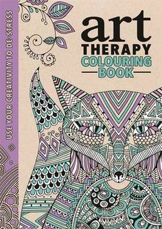 Have you tried adult colouring books yet? Art therapy is the latest craze sweeping the nation. Get creative and unwind with a colouring book. Art Therapy: An Anti-stress Colouring Book Coloring Book Art, Free Coloring Pages, Printable Coloring, Coloring Sheets, Anti Stress Coloring Book, To Color, Copics, Mellow Yellow, How To Relieve Stress