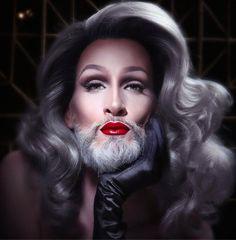 """RuPaul's Drag Rac""' Creative Director, Mathu Andersen, Presents Stunning Self-Portraits."